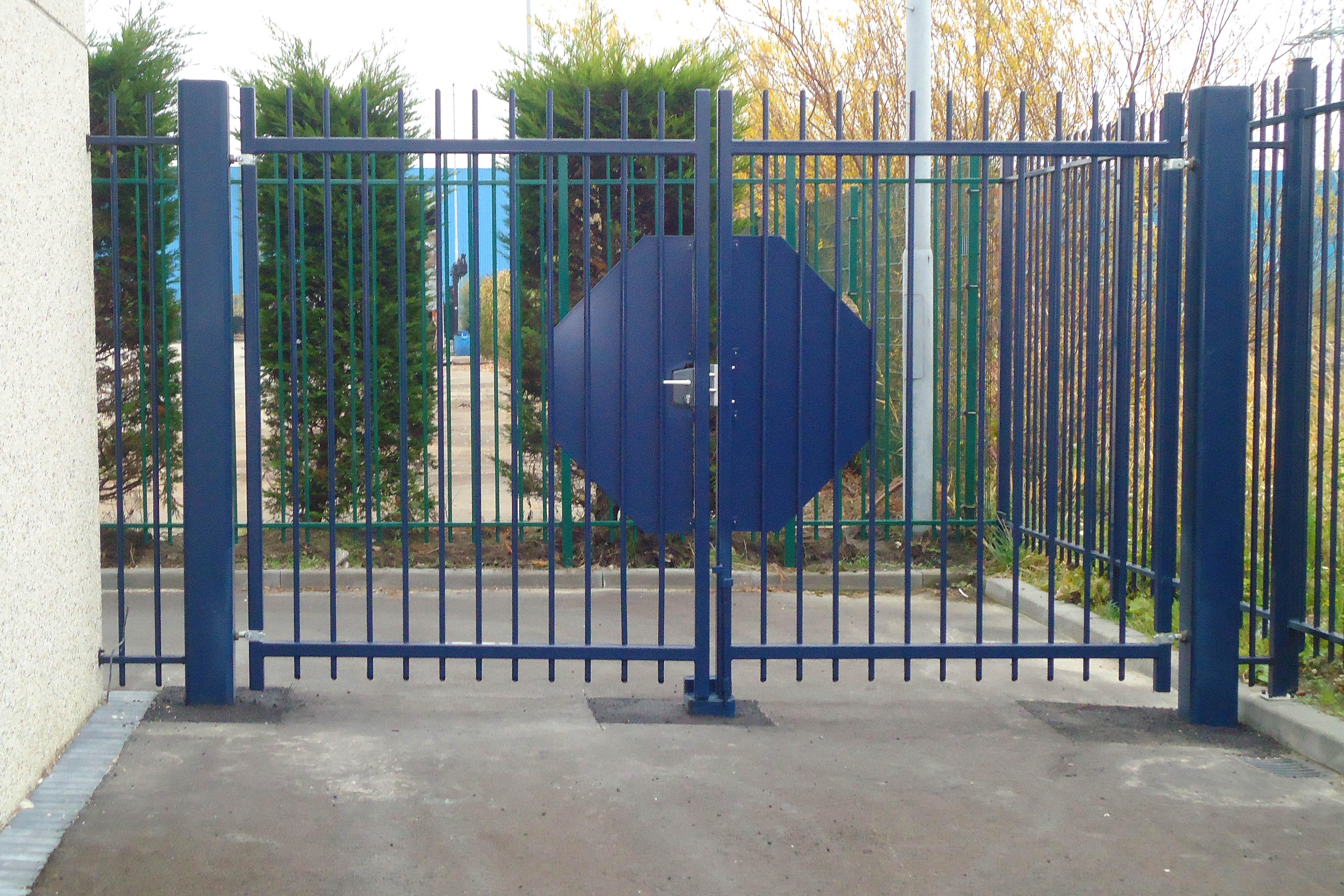 poort blauw