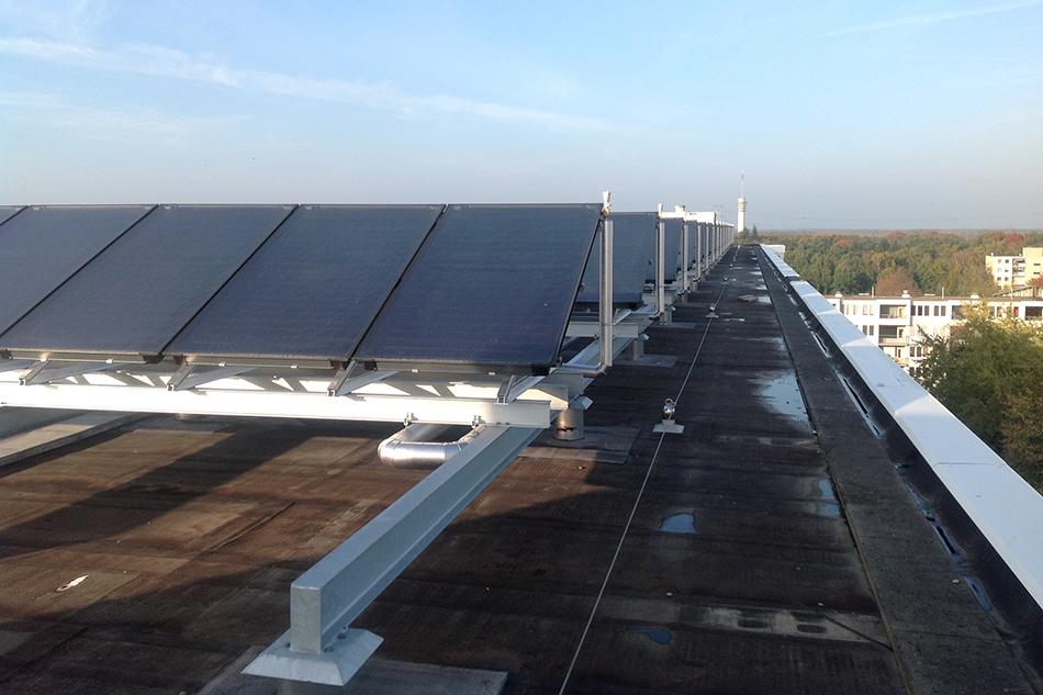 zonnepanelen constructie Breda Bam 2