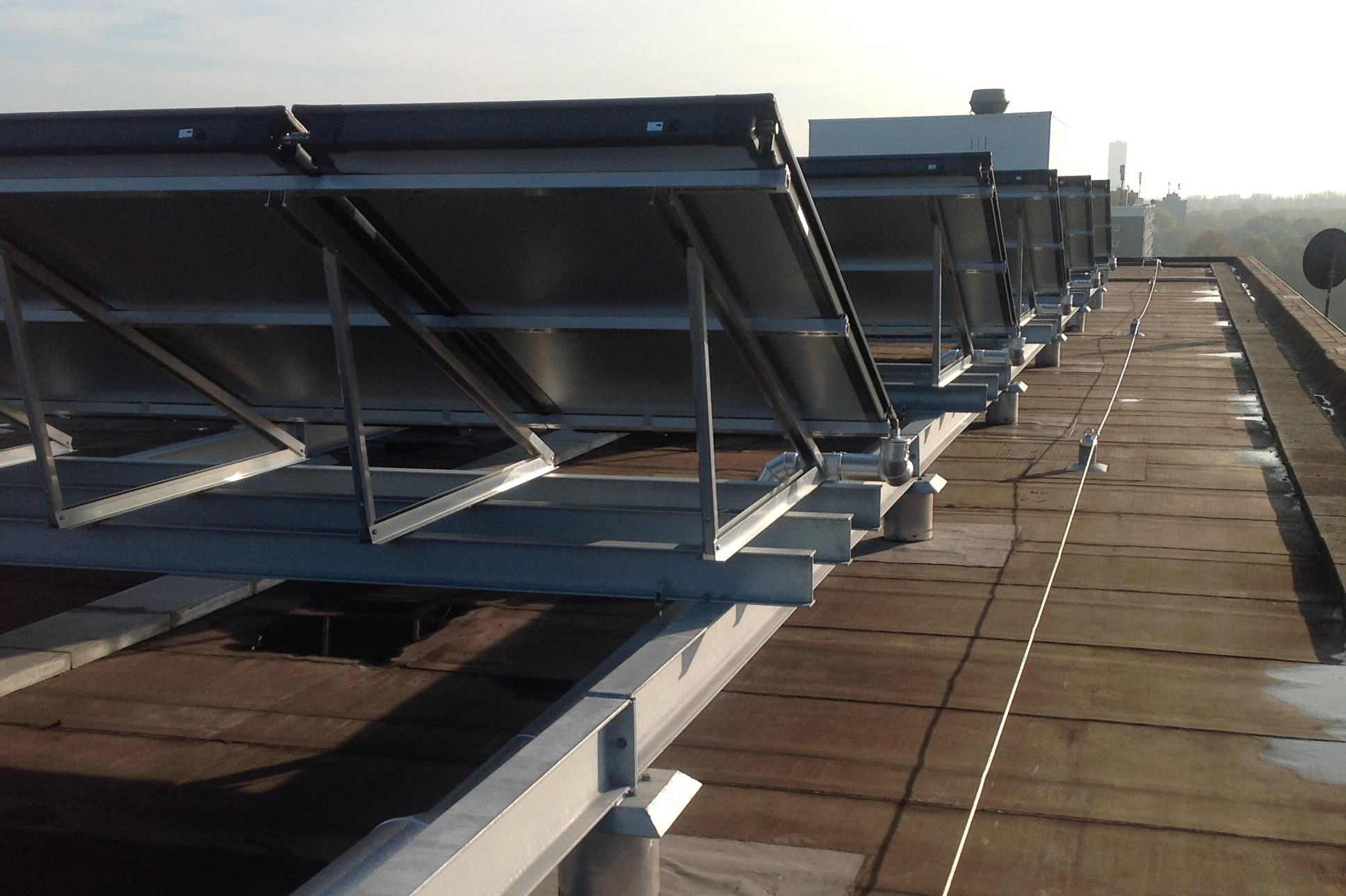 zonnepanelen constructie Breda Bam