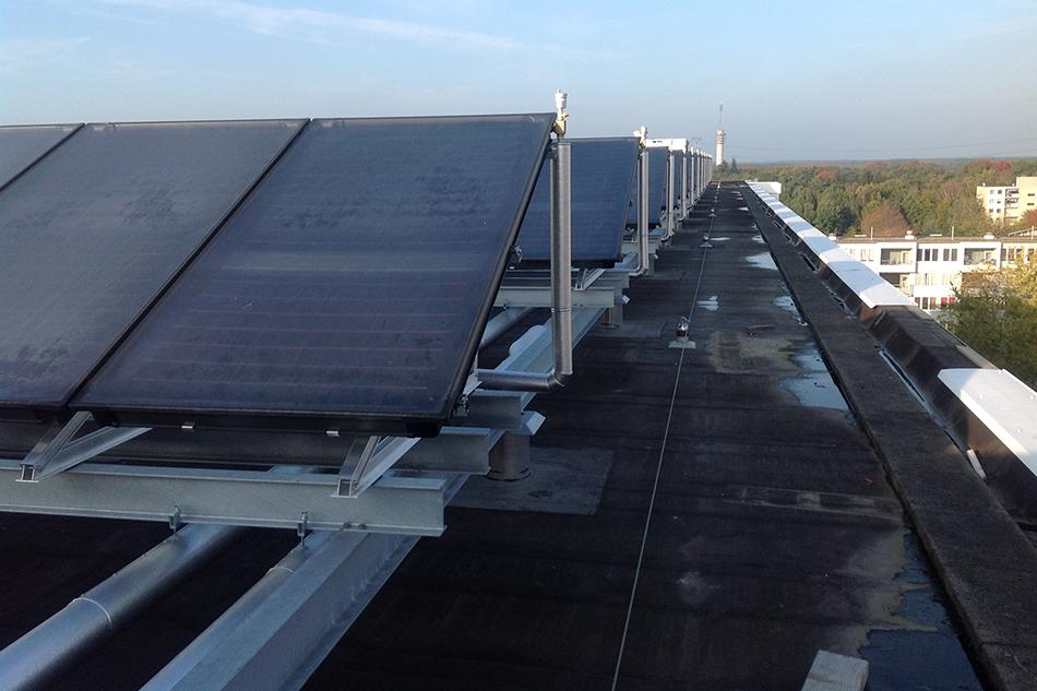 zonnepanelen constructie